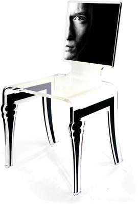 Square Picture Chair Acrylic French Style image 7