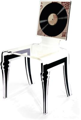 Square Picture Chair Acrylic French Style image 10