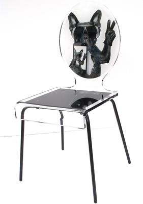 Oval Picture Chair Designer Acrylic Glass image 5