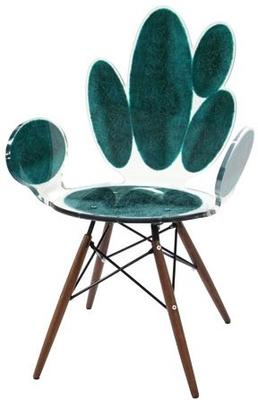 Acrylic Ovals Armchair Quirky Gloss Style image 2