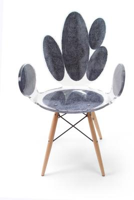 Acrylic Ovals Armchair Quirky Gloss Style image 5