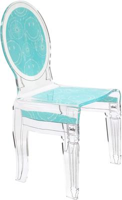 Acrylic Smiley Chair French Style