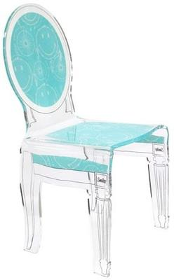 Acrylic Smiley Chair French Style image 2
