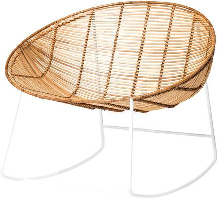 Bloomingville Natural Rattan Rocking Chair