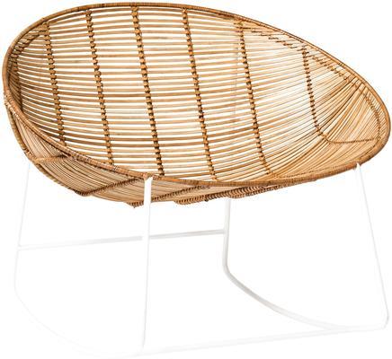 Bloomingville Natural Rattan Rocking Chair image 4