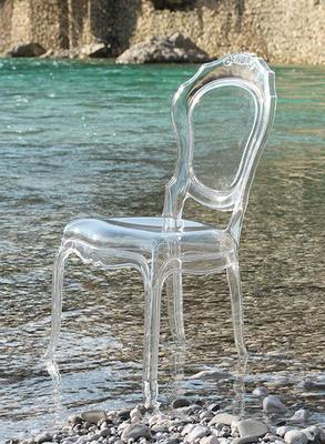 Ameline Acrylic Chair - Transparent Finish