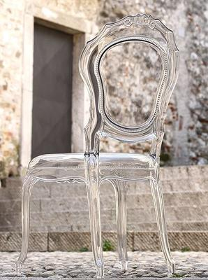 Ameline Acrylic Chair - Transparent Finish image 3