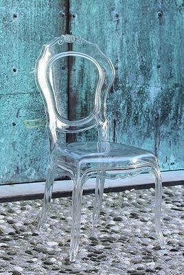 Ameline Acrylic Chair - Transparent Finish image 4