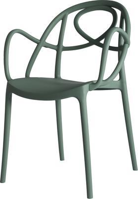 Etoile Contemporary Armchair Polypropylene image 8