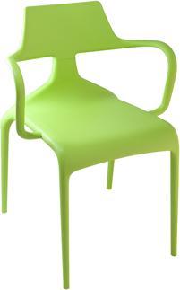 Shark Modern Stacking Chair image 2