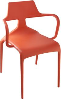 Shark Modern Stacking Chair image 3