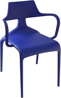 Shark Modern Stacking Chair image 5