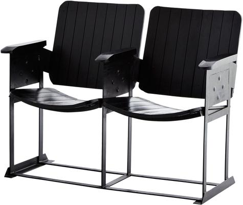 Cinema Chair - Set of 2 - Wooden and Metal image 4