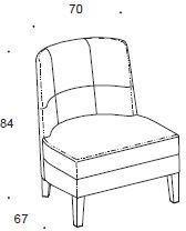 Murano armchair image 2