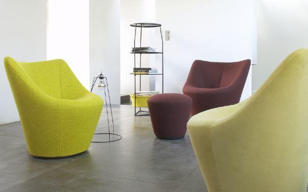 Anda Swivelling Armchair (Low Back) from Ligne Roset image 2