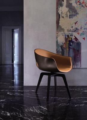 Ginger swivel chair from Poltrona Frau