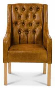 Simpson Handmade Leather Chair image 2