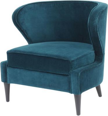 Orlando Teal Curve Chair