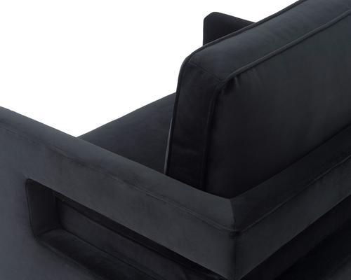 Altro Velvet Angular Occasional Chair image 5