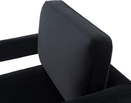Altro Velvet Angular Occasional Chair image 6