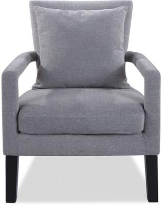 Cole Occasional Chair Slate Linen Wenge Legs image 2