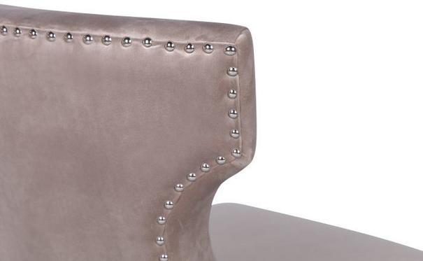 Jazz Velvet Occasional Chair Mink or Black image 5