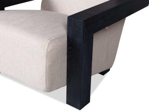 Compton Velvet Occasional Chair Deep Seat image 8