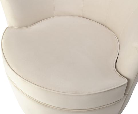 Kiss Occasional Velvet Chair image 5