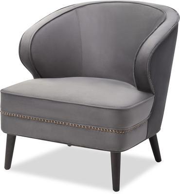 Lindsay Velvet Occasional Chair Art Deco image 11