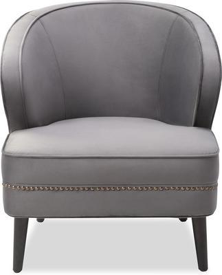 Lindsay Velvet Occasional Chair Art Deco image 6