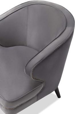 Lindsay Velvet Occasional Chair Art Deco image 13