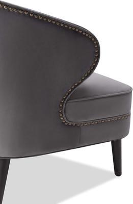 Lindsay Velvet Occasional Chair Art Deco image 14
