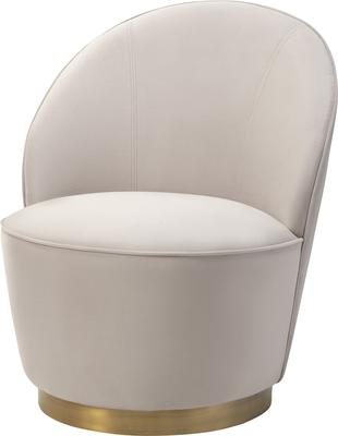 Miu Occasional Quirky Velvet Chair