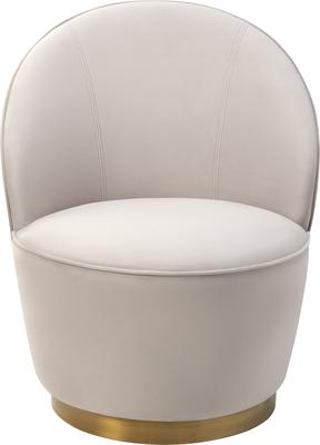Miu Occasional Quirky Velvet Chair image 2