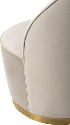 Miu Occasional Quirky Velvet Chair image 3