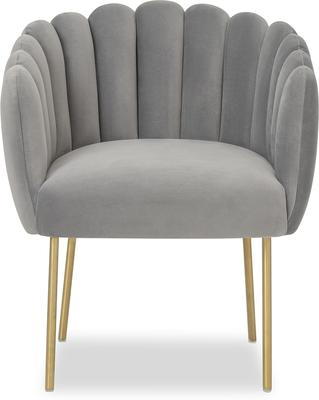 Daisy Velvet Flower Tub Chair image 2