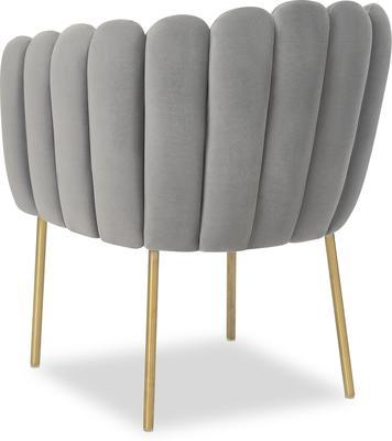 Daisy Velvet Flower Tub Chair image 3
