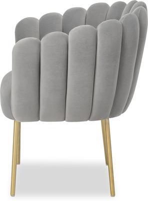 Daisy Velvet Flower Tub Chair image 4