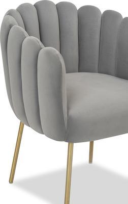 Daisy Velvet Flower Tub Chair image 6