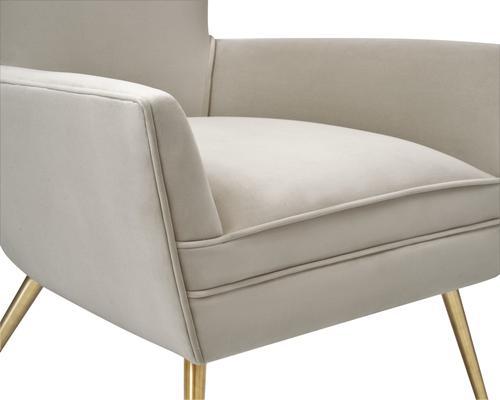Paris Chic Velvet Chair Striped or White image 9