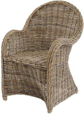 Toba Rattan Occasional Armchair