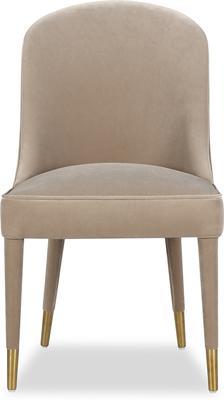 Viva Velvet Dining Chair in Lilac, Mink or Blue image 7
