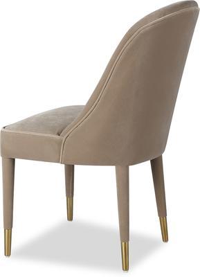 Viva Velvet Dining Chair in Lilac, Mink or Blue image 8