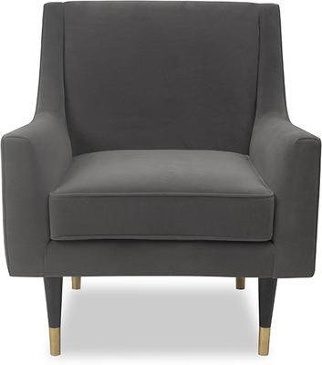 Conte Velvet or Boucle Chair image 16