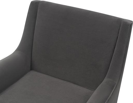 Conte Velvet or Boucle Chair image 19