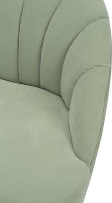 Walton Occasional Velvet Chair in Off-White or Aqua Green image 10