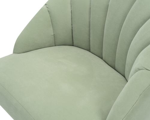 Walton Occasional Velvet Chair in Off-White or Aqua Green image 11