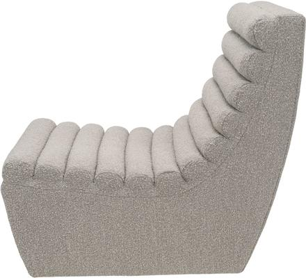 Limberg Boucle Sculpted Occasional Chair in Taupe or Slate image 3