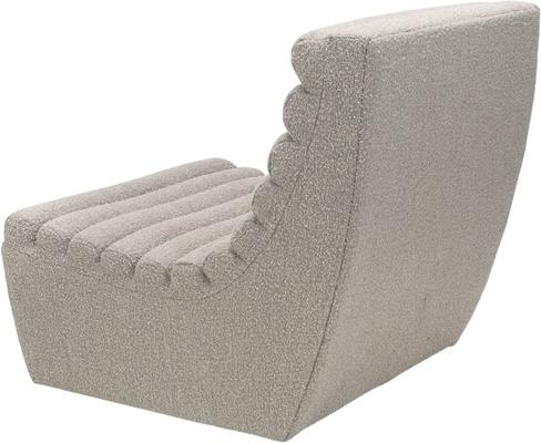 Limberg Boucle Sculpted Occasional Chair in Taupe or Slate image 4