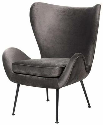 Grey Wing Back Chair